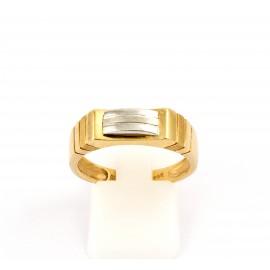 Χρυσό ανδρικό δαχτυλίδι 14 καρατίων  03.0177