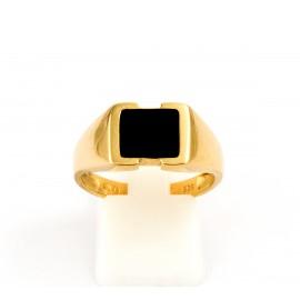 Χρυσό ανδρικό δαχτυλίδι 14 καρατίων  03.0178