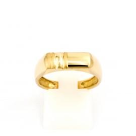 Χρυσό ανδρικό δαχτυλίδι 14 καρατίων  03.0181
