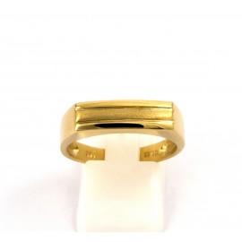 Χρυσό ανδρικό δαχτυλίδι 14 καρατίων  03.0182