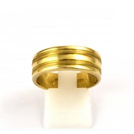 Χρυσό ανδρικό δαχτυλίδι 14 καρατίων  03.0184