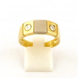Χρυσό ανδρικό δαχτυλίδι 14 καρατίων  03.3522