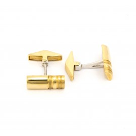 Χρυσά μανικετόκουμπα 14 καρατίων  02.0226