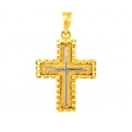 Χρυσός σταυρός  14 καρατίων    01.0245