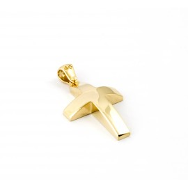 Χρυσός σταυρός  14 καρατίων    01.0454