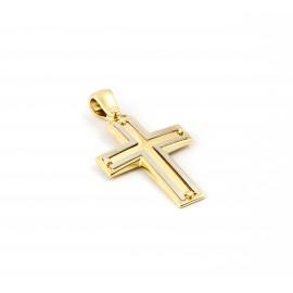 Χρυσός  σταυρός  14 καρατίων    01.0289