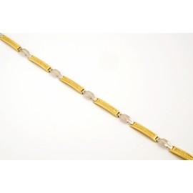 Χρυσή ανδρική χειροπέδα 14 καρατίων 04.3516