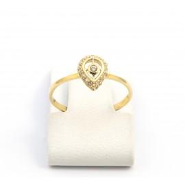 Χρυσό δαχτυλίδι 14 καρατίων  06.03.02