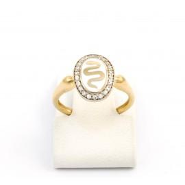 Χρυσό δαχτυλίδι 14 καρατίων  06.02.07