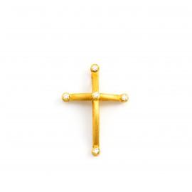 Χρυσός σταυρός  14 καρατίων    08.0052