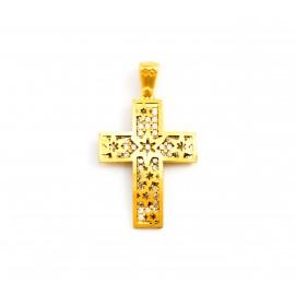 Χρυσός σταυρός  14 καρατίων    08.0053