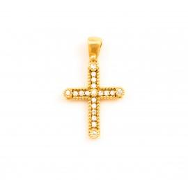 Χρυσός σταυρός  14 καρατίων    08.0057
