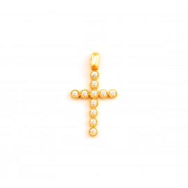 Χρυσός σταυρός  14 καρατίων    08.0062