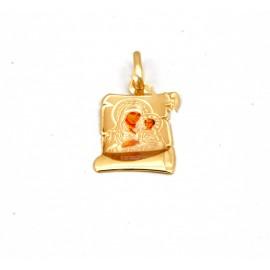 Παναγίτσα  χρυσή  Κ14  10.05.005