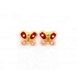 Παιδικά χρυσά σκουλαρίκια  14 καρατίων 18.05.23
