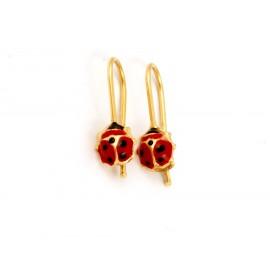 Παιδικά χρυσά σκουλαρίκια 14 καρατίων 18.05.28