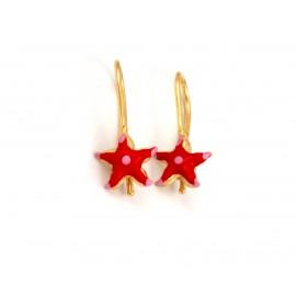 Παιδικά χρυσά σκουλαρίκια 14 καρατίων 18.05.31