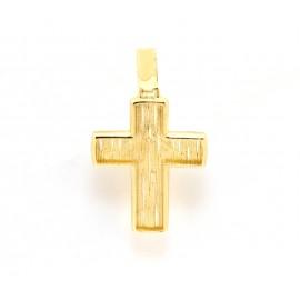 Χρυσός σταυρός  14 καρατίων 21.01.001