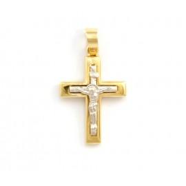 Χρυσός σταυρός  14 καρατίων 21.05.002