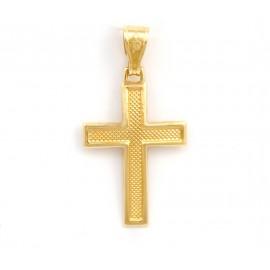 Χρυσός σταυρός  14 καρατίων   21.05.006