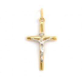 Χρυσός σταυρός 14 καρατίων  21.05.008