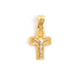 Χρυσός σταυρός  14 καρατίων   21.01.009