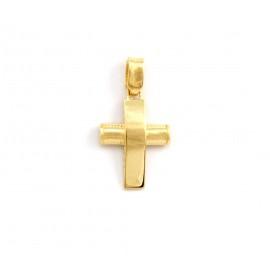 Χρυσός σταυρός  14 καρατίων   21.01.012