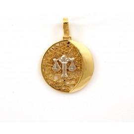 Χρυσό ζώδιο 14 καρατίων  17.115