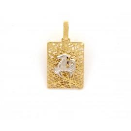 Χρυσό ζώδιο 14 καρατίων  17.105