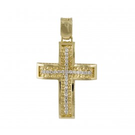 Χρυσός σταυρός  14 καρατίων    25.0368